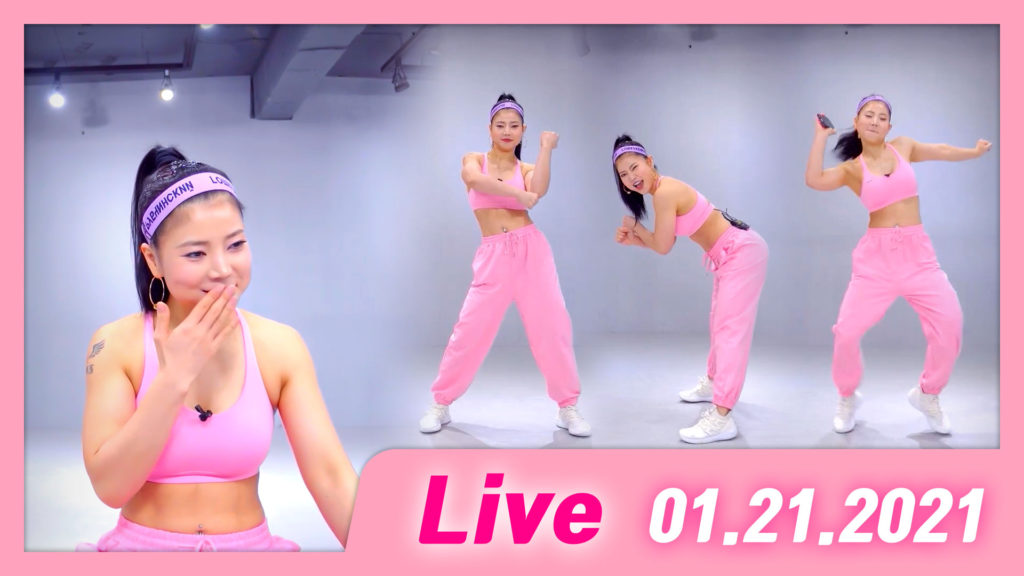 Live Dance Workout 2020-01-21