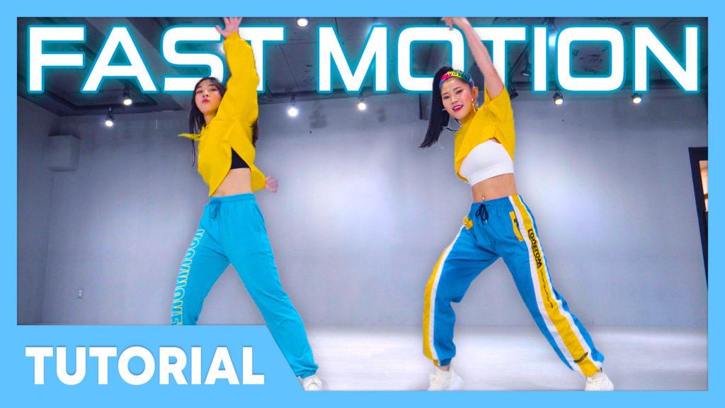 [Tutorial] Saweetie – Fast (Motion)
